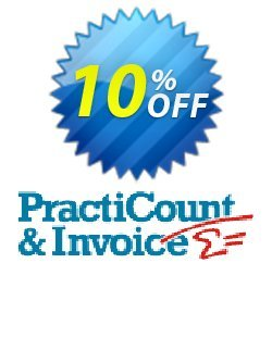 PractiCount and Invoice - Upgrade from 3.xx to 4.0 Business Edition Site License  Coupon, discount Coupon code PractiCount and Invoice (Upgrade from 3.xx to 4.0 Business Edition Site License). Promotion: PractiCount and Invoice (Upgrade from 3.xx to 4.0 Business Edition Site License) offer from Practiline