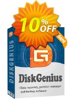 DiskGenius Standard - Technician License  Coupon, discount 30%off P. Promotion: One sale OFF