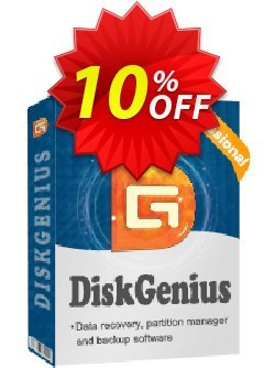 DiskGenius Professional - Technician  Coupon, discount 30%off P. Promotion: One sale OFF