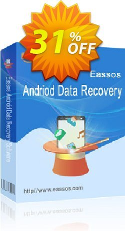 Eassos Android Data Recovery Coupon, discount 30%off P. Promotion: Eassos Android Data Recovery 30% OFF Coupon (100% Working)