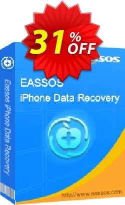 Eassos iPhone Data Recovery Coupon, discount 30%off P. Promotion: Refer to friend and get discount