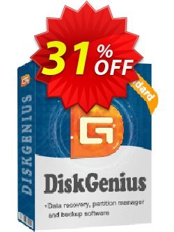 DiskGenius Standard Coupon discount 30%off P - DiskGenius sale