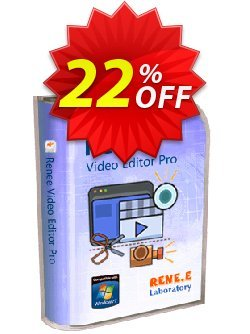 Renee Video Editor Pro - 1 year  Coupon, discount Renee Video Editor Pro - 1 PC 1 year Amazing discounts code 2020. Promotion: Amazing discounts code of Renee Video Editor Pro - 1 PC 1 year 2020