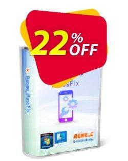 Renee iPassFix For Windows Coupon, discount Renee iPassFix For Windows Super promotions code 2021. Promotion: Super promotions code of Renee iPassFix For Windows 2021