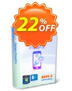 Renee iPassFix For MacOS Coupon, discount Renee iPassFix For MacOS  Wonderful discounts code 2020. Promotion: Wonderful discounts code of Renee iPassFix For MacOS  2020