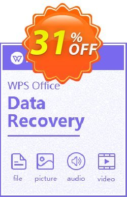 Kingsoft WPS Data Recovery Master Coupon, discount 30%off  for affiliates. Promotion: Kingsoft Data Recovery coupon code for Master