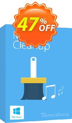 Tenorshare iTunes Music Cleanup Coupon discount softpedia.com---20% off of Musci cleanup -