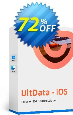 UltData - iPhone Data Recovery Lifetime License Coupon, discount Tenorshare special coupon (29742). Promotion: