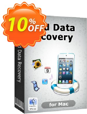 Tenorshare iPod Data Recovery for Mac Coupon, discount 10% Tenorshare 29742. Promotion: