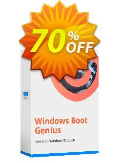 Tenorshare Windows Boot Genius - 1 Year/1 PC  Coupon discount Promotion code - Offer discount