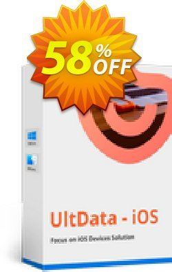 Tenorshare Ultdata for iOS/Mac - Unlimited License  Coupon discount Promotion code - Offer discount