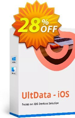 Tenorshare UltData for iOS - Family Pack Coupon, discount Promotion code. Promotion: Offer discount
