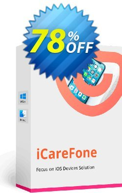 Tenorshare iCareFone - 1 Year Coupon discount Promotion code - Offer discount