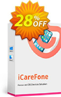 Tenorshare iCareFone - Family Pack Coupon discount Promotion code - Offer discount