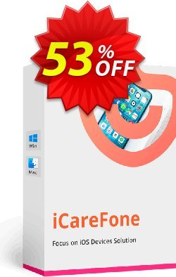 Tenorshare iCareFone - Unlimited Coupon discount Promotion code - Offer discount