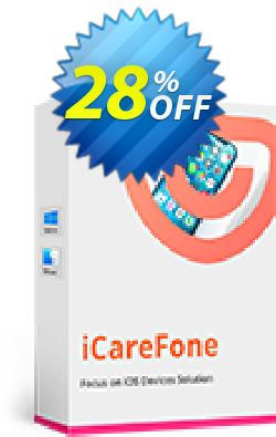Tenorshare iCareFone for Mac - Family Pack Coupon discount Promotion code - Offer discount