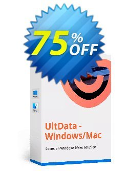 Tenorshare UltData - Mac Data Recovery Coupon, discount discount. Promotion: coupon code
