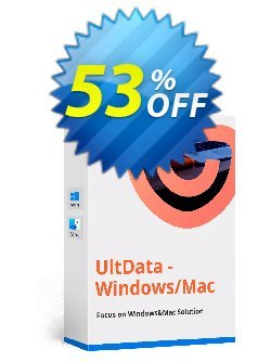 Tenorshare UltData Mac Data Recovery - Unlimited license  Coupon discount discount - coupon code
