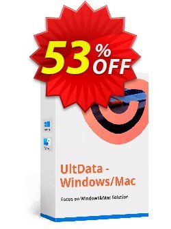 Tenorshare UltData Windows Data Recovery - Unlimited PCs  Coupon discount discount - coupon code