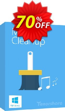 Tenorshare Music Cleanup-Family Pack Coupon, discount discount. Promotion: coupon code
