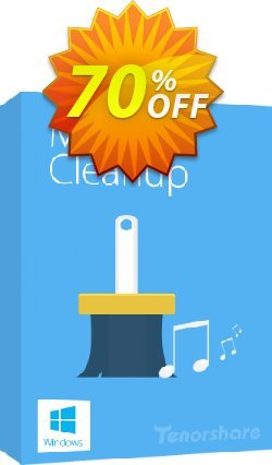 Tenorshare iTunes Music Cleanup - Unlimited PCs  Coupon discount discount. Promotion: coupon code