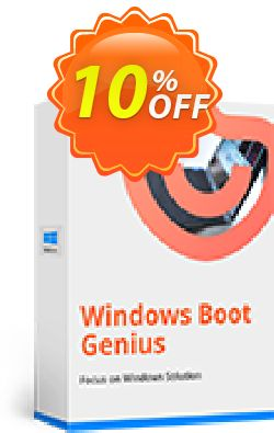 Tenorshare Windows Boot Genius - Family Pack  Coupon discount Promotion code - Offer discount
