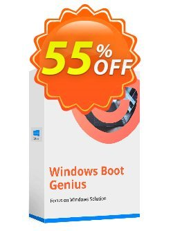 Tenorshare Windows Boot Genius - Unlimited PCs  Coupon discount 55% OFF Tenorshare Windows Boot Genius (Unlimited PCs), verified - Stunning promo code of Tenorshare Windows Boot Genius (Unlimited PCs), tested & approved