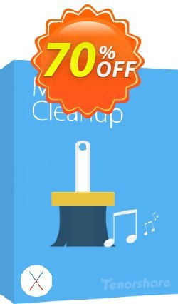 Tenorshare iTunes Music Cleanup for Mac - Unlimited PCs  Coupon discount discount. Promotion: coupon code