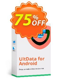 UltData for Android Lifetime Coupon, discount Promotion code. Promotion: Offer discount