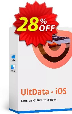 Tenorshare UltData for iOS - Family License Coupon, discount Promotion code. Promotion: Offer discount