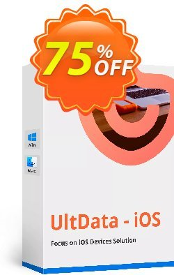 Tenorshare UltData for iPad Coupon discount Promotion code - Offer discount