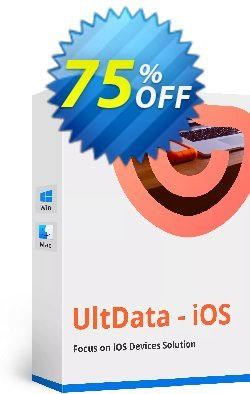 Tenorshare UltData for iPod Coupon discount Promotion code - Offer discount