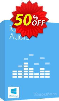 Tenorshare iGetting Audio - Unlimited License  Coupon discount 30-Day Money-Back Guarantee
