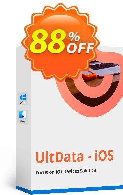 Tenorshare UltData for iOS - 11-15 Devices  Coupon discount Promotion code - Offer discount