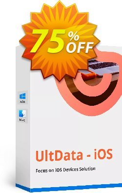 Tenorshare Ultdata for iOS - Lifetime Coupon discount Promotion code - Offer discount
