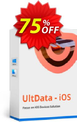 Tenorshare Ultdata for iOS (Mac)  - 1 Year Coupon, discount Promotion code. Promotion: Offer discount