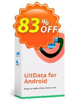 Tenorshare UltData for Android - 6-10 Devices  Coupon discount Promotion code - Offer discount