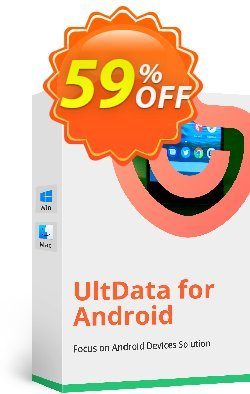 Tenorshare UltData for Android - 1 Month Coupon, discount Promotion code. Promotion: Offer discount