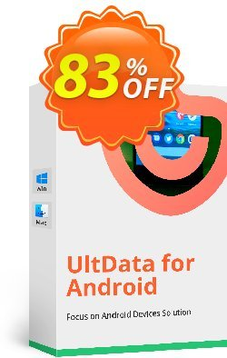 Tenorshare UltData for Android for Mac - (6-10 Devices) Coupon, discount Promotion code. Promotion: Offer discount