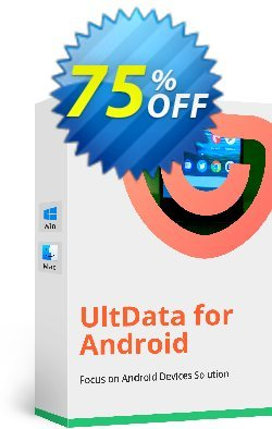 Tenorshare UltData for Android for Mac - 1 Year Coupon, discount Promotion code. Promotion: Offer discount