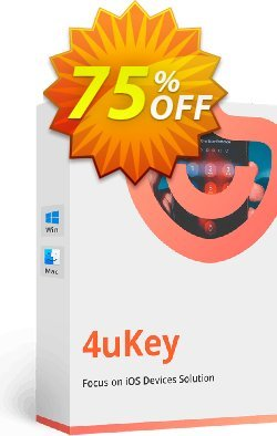 Tenorshare 4uKey for Mac Coupon discount 75% OFF Tenorshare 4uKey for Mac, verified - Stunning promo code of Tenorshare 4uKey for Mac, tested & approved
