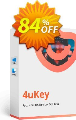 Tenorshare 4uKey for Mac - 6-10 Devices  Coupon discount 84% OFF Tenorshare 4uKey for Mac (6-10 Devices), verified - Stunning promo code of Tenorshare 4uKey for Mac (6-10 Devices), tested & approved