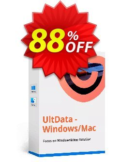 Tenorshare UltData Windows Data Recovery - 6-10 PCs  Coupon discount discount - coupon code