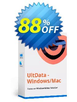 Tenorshare UltData - Windows Data Recovery (11-15 PCs) Coupon, discount discount. Promotion: coupon code