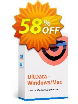 Tenorshare UltData - Mac Data Recovery - 1 Month Coupon, discount discount. Promotion: coupon code