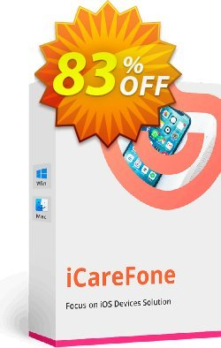 Tenorshare iCareFone - - 2-5 PCs  Coupon discount Promotion code - Offer discount