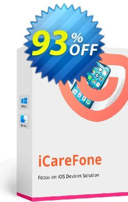 Tenorshare iCareFone - - 6-10 PCs  Coupon discount Promotion code - Offer discount