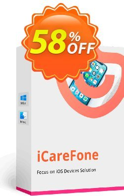 Tenorshare iCareFone - 1 Month Coupon discount Promotion code - Offer discount