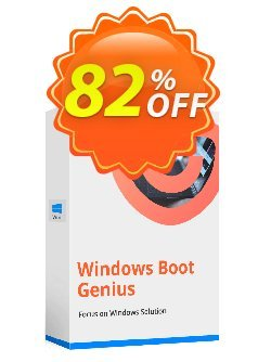 Tenorshare Windows Boot Genius - 6-10 PCs  Coupon discount Promotion code - Offer discount