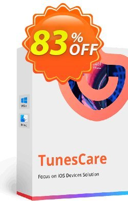 Tenorshare TunesCare Pro - 6-10 PCs  Coupon discount discount - coupon code